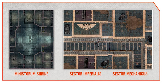 Templo Ministorum - Sector Imperialis - Sector Mechanicus