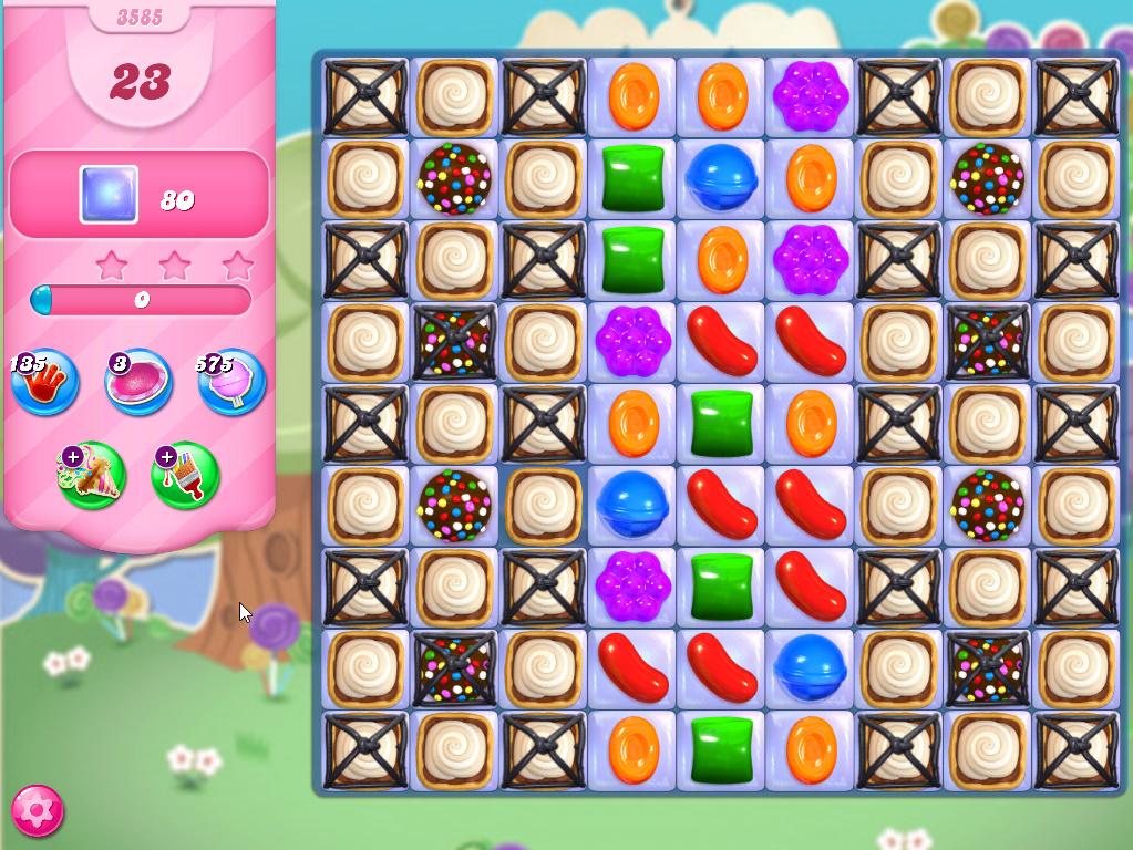 Candy Crush Saga level 3585