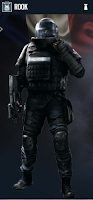 Portrait of Rook - Rainbow Six Siege Operator