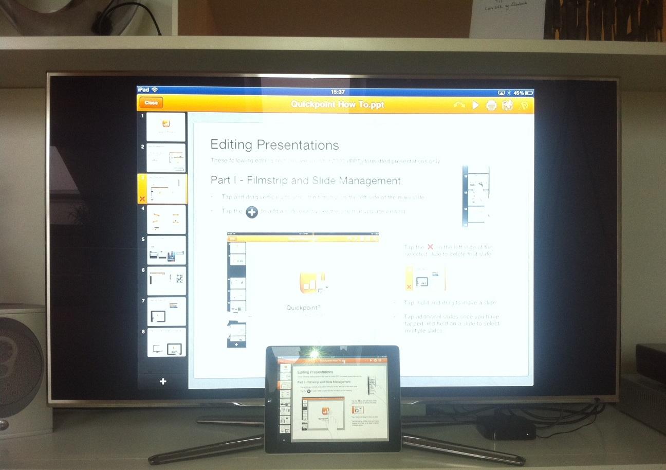 It-konsulent: Ipad på tv eller projektor