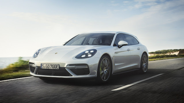 Porsche ra mắt Panamera Turbo S E-Hybrid Sport Turismo