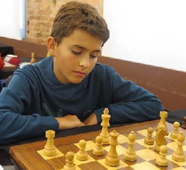 El joven ajedrecista Daniel Àlvarez i Albiol