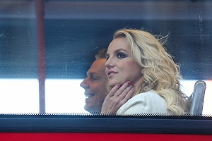 Britney Spears continues to stay in the UK capital