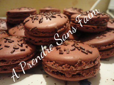 Macarons au chocolat façon Alain Ducasse