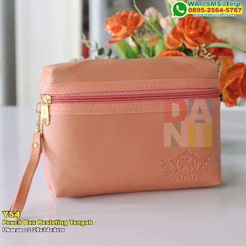 Pouch Box Resleting Tengah