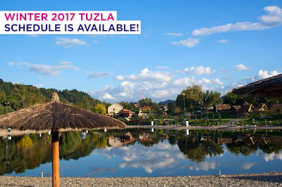 ✈ Wizz Air, Tuzla winter schedule 2017/2018