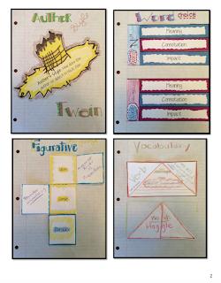 Huckleberry Finn Novel Study Interactive Notebook pages