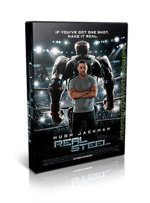 Descargar Gigantes de Acero (Acero Puro / Real Steel) (2011)
