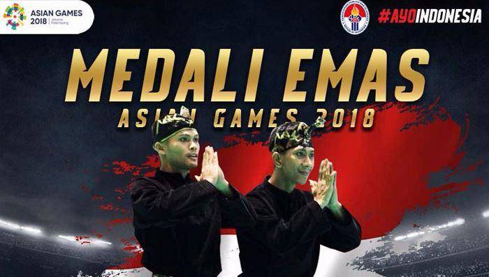asian games 2018, pencak silat, fakta unik, medali emas