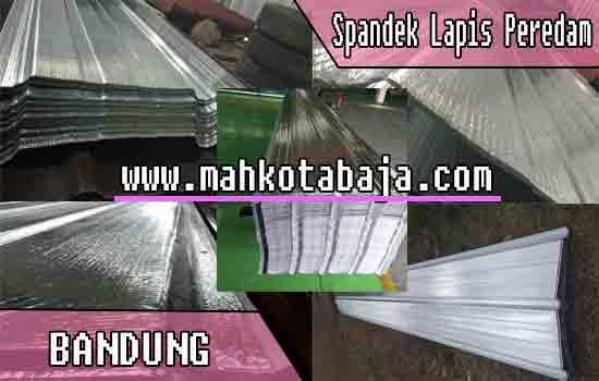 Harga Atap Spandek Lapis peredam Bandung
