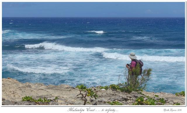 Mahaulepu Coast: ... to infinity...