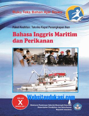 File Pendidikan Buku Kelas 10 SMK Bahasa Inggris Maritim dan Perikanan K13