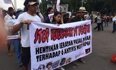 Sweeping Mantap Praja di Dogiyai Tuai Protes dari Mahasiswa di Pulau Jawa