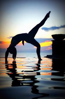 yogascape upward bow wheel  urdhva dhanurasana