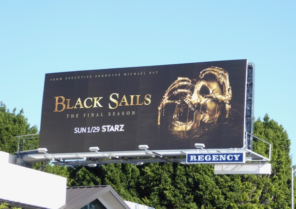 Black Sails final season 4 billboard