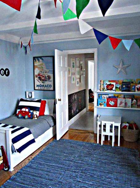 Rumahkubagus 21 Desain Kamar Tidur Anak Laki Laki Minimalis Usia 6 12 Tahun
