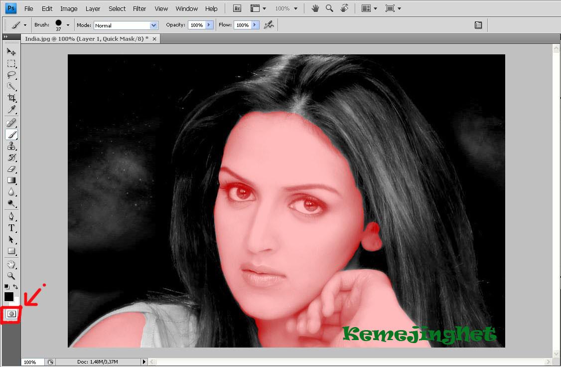 Cara Edit Foto Hitam Putih Menjadi Berwarna Dengan ...