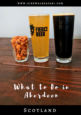 What to do in Aberdeen Scotland: Fierce Beer