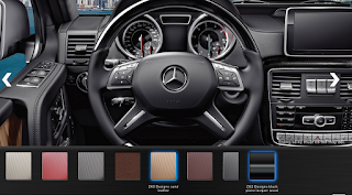 Nội thất Mercedes AMG G63 2015 màu Vàng Learther ZK6