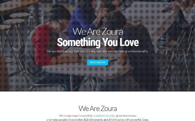 Zoura fully responsive template