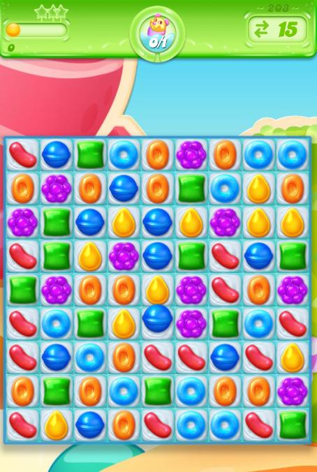 Candy Crush Jelly Saga 203