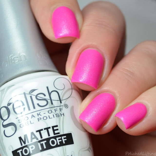 matte gel top coat