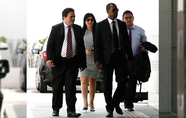 El fiscal Herny Amenábar y la procuradora Silvana Carrión Ordinola, en la Procuraduría Regional de Bahía