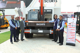 Escorts launches new range of construction equipment at  Bauma CONEXPO 2018