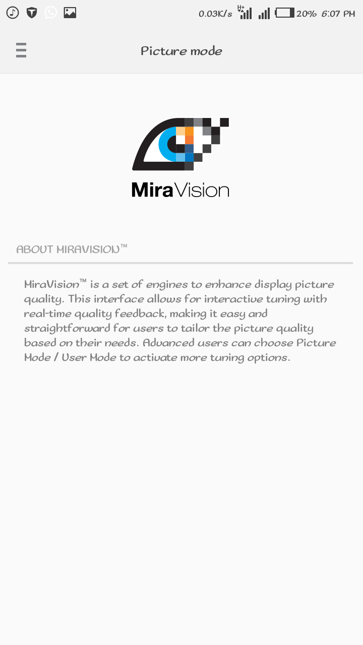 See Uses and Features Of MiraVision On Tecno HiOS Devices