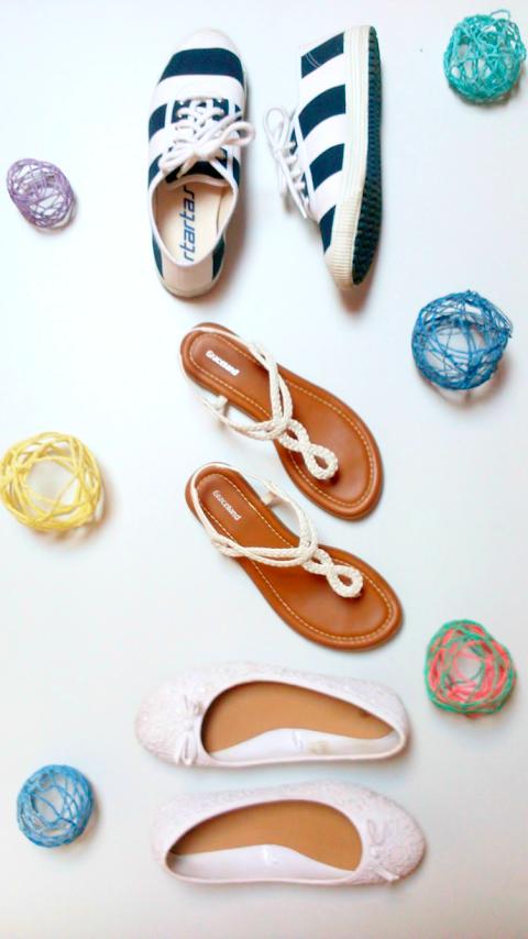 My Fave Summer Footwear