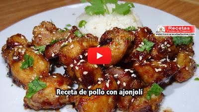El pollo con ajonjolí es una receta  muy sabrosa, tiene una salsa dulce de aceite de ajonjolí que es una delicia, es muy  saludable y fácil de preparar.