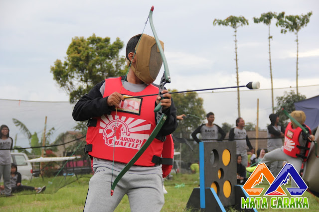 OUTBOUND FUN TEAM BUILDING - ARCHERY BATTLE - THEMATIC