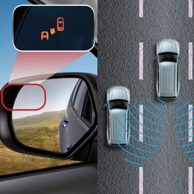 Fitur pendeteksi kendaraan dari samping