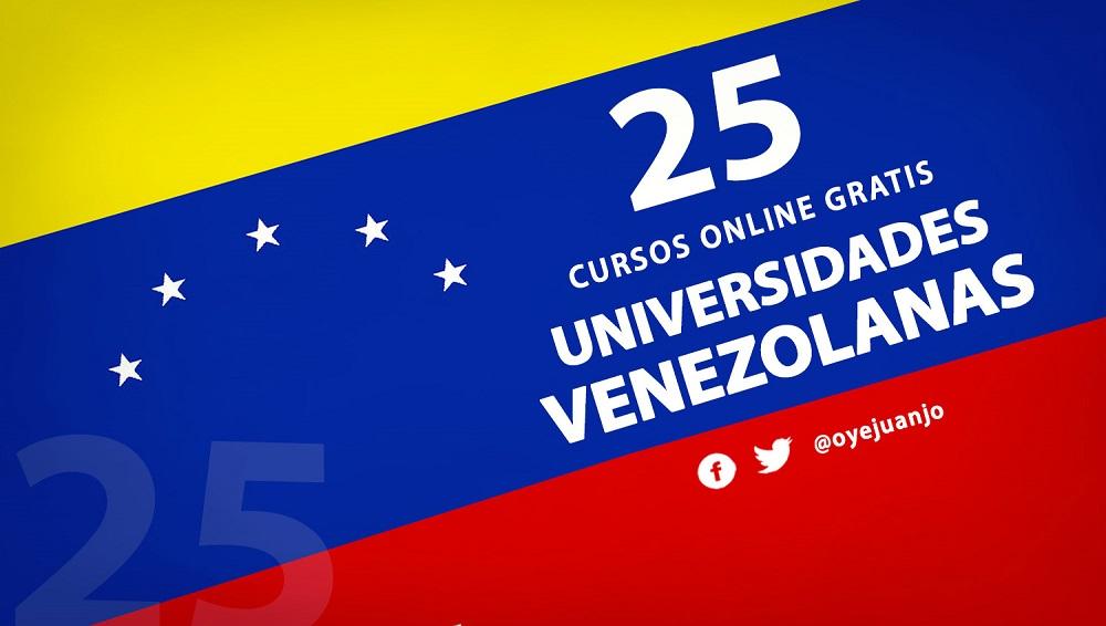 25 Cursos Online Gratis De Universidades Venezolanas