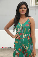 Actress Eesha Latest Pos in Green Floral Jumpsuit at Darshakudu Movie Teaser Launch .COM 0074.JPG