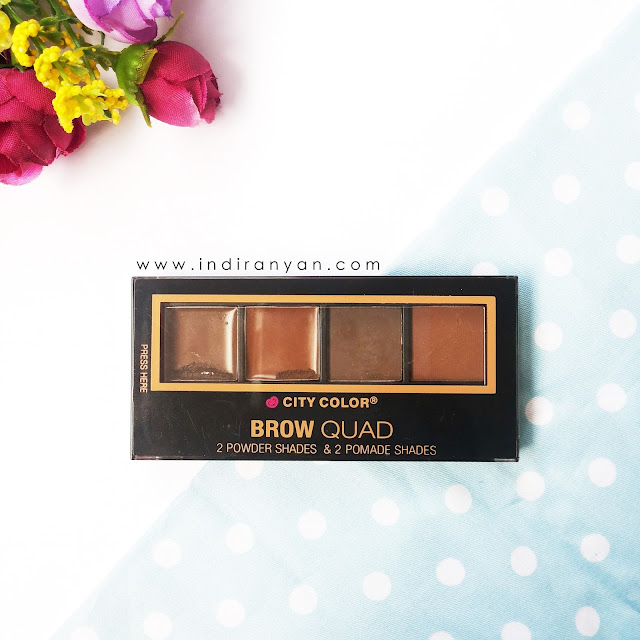 City Color Brow Quad