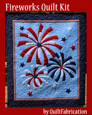 Fireworks Quilt Kit by QuiltFabrication