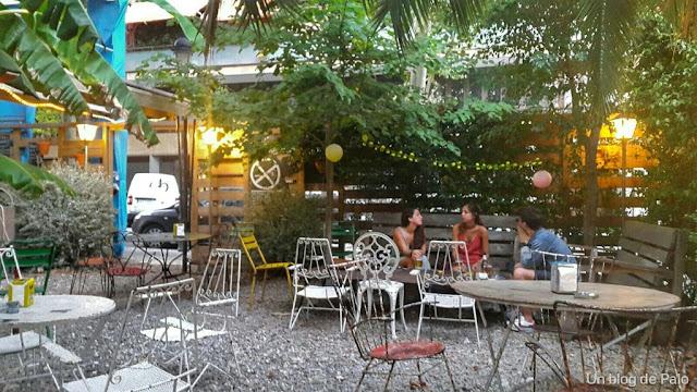 Le Jardin. Café Poétique Barcelona