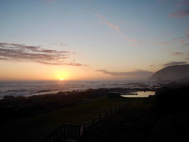Sunset in Tsitsikamma National Park, Garden Route, South Africa