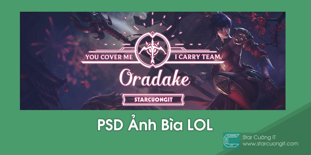 Share PSD Ảnh Bìa LOL Tuyệt Đẹp cho Facebook