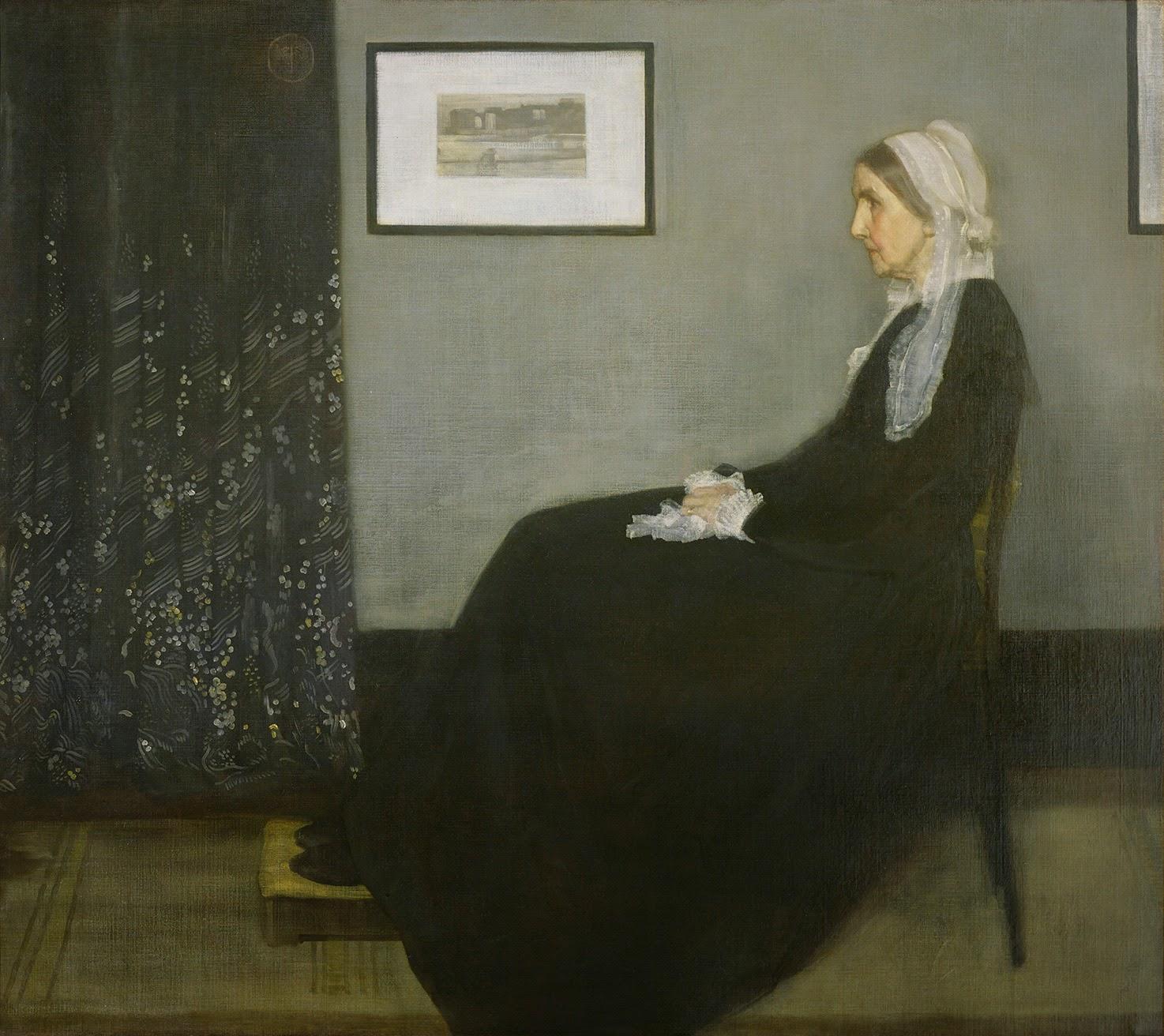James Abbot McNeill Whistler, Composición en gris y negro nº1 (la madre del artista)