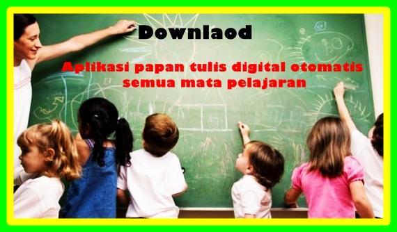 Aplikasi Papan Tulis Digital Untuk SD Tampilan Terbaru