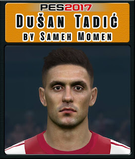 PES 2017 Faces Dušan Tadić by Sameh Momen
