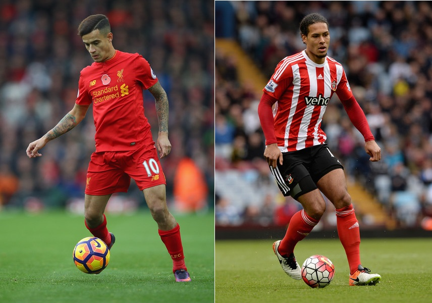 Liverpool Transfer News - Philippe Coutinho and Virgil van Dijk