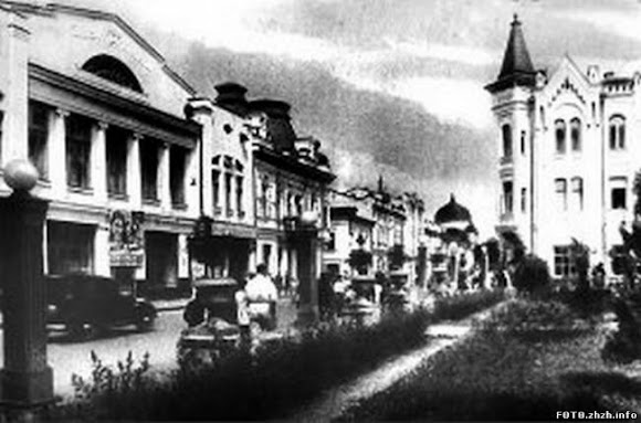 Житомир. Михайлівська вул. (Фото з архіву Магаз А. І.)