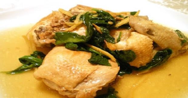 Pinatisang Manok Recipe