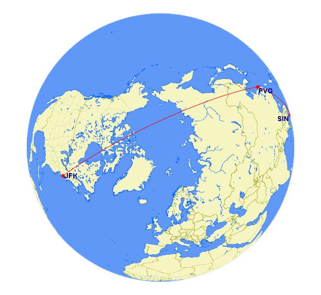 Mega Mileage Run JFK to Singapore Earn 21,856 MQM, 14464 RDM and ...