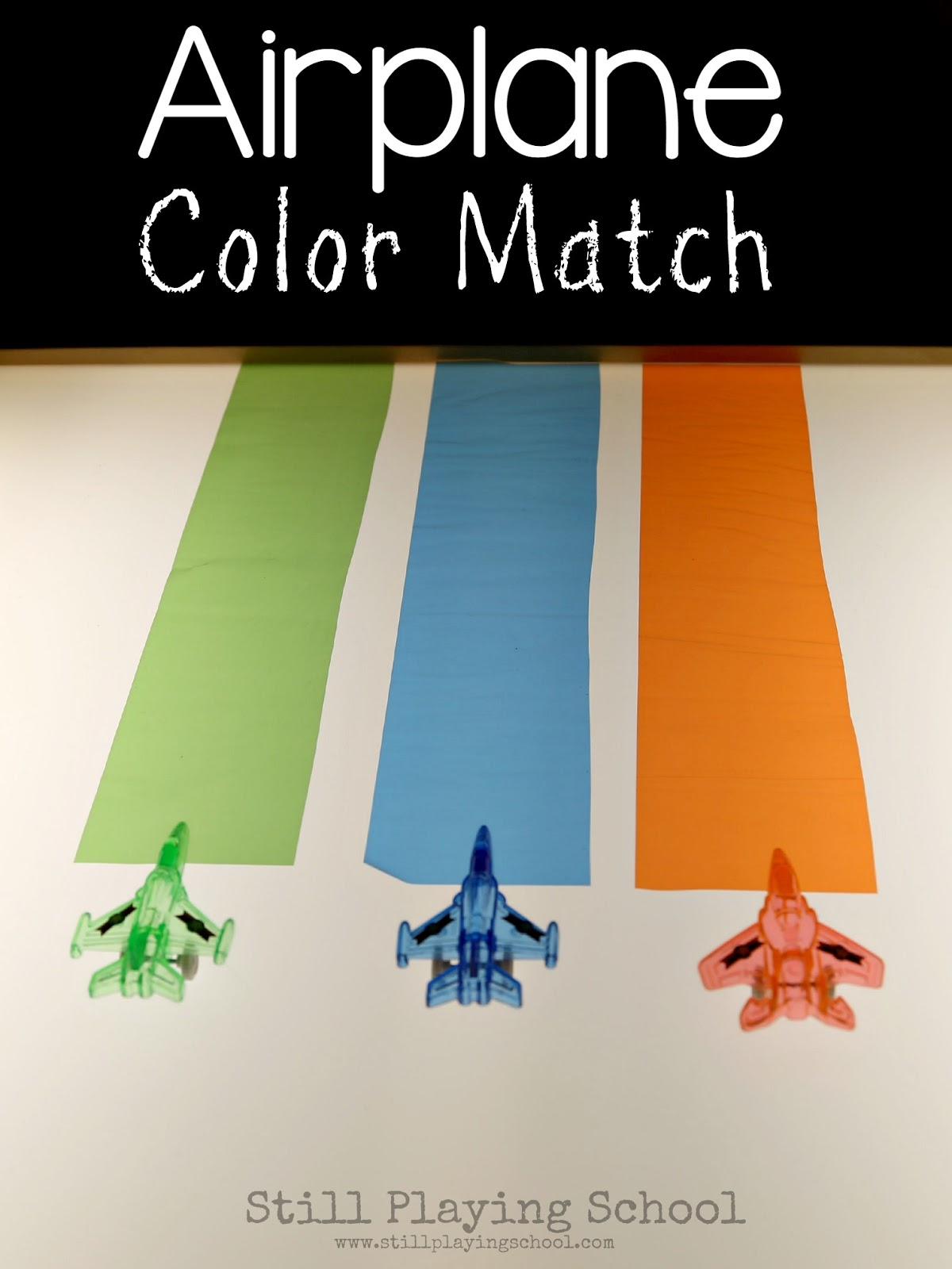 Airplane Color Sorting On The Light Table
