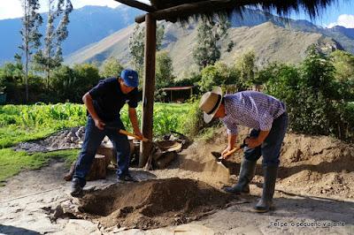 Pachamanca Farm Lunch em Ollantaytambo - a melhor experiência gastronômica do Peru