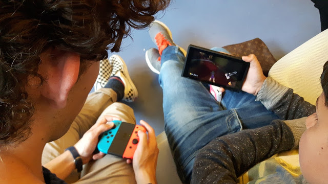 *Gastblog* Mein Sohn testet die Nintendo Switch auf Reisen